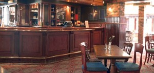 interior of pub