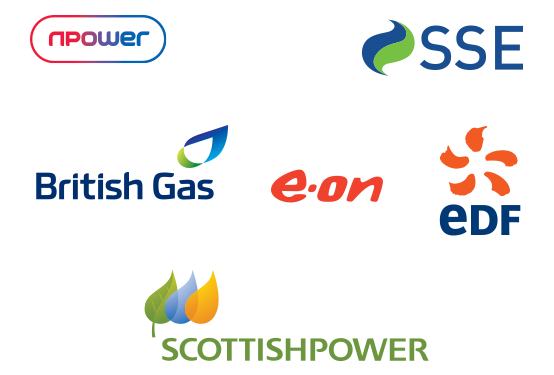 logos of energy suppliers UK
